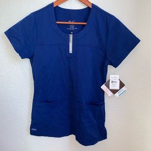 NWT NrG By Barco Women's Scrub Top